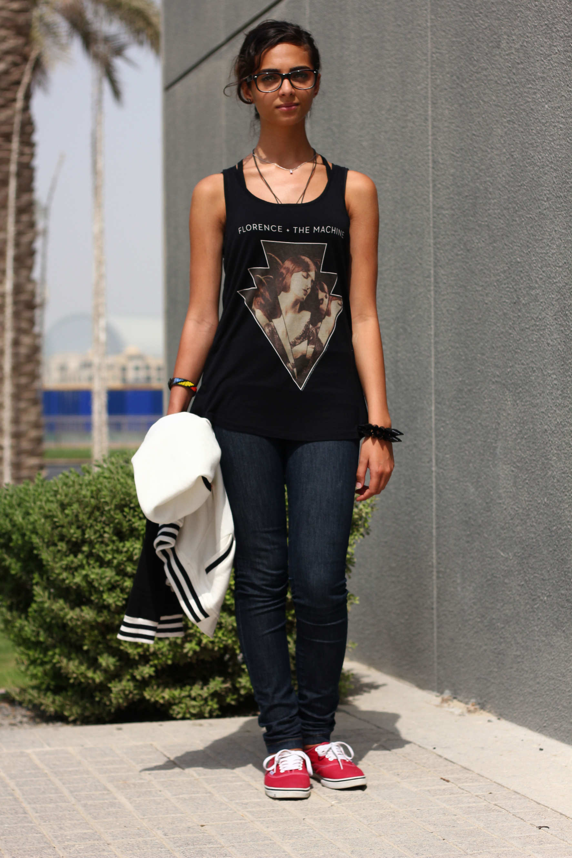 Casual emarati fashion