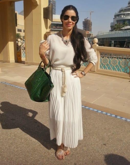 Dubai Fashion maxi skirt