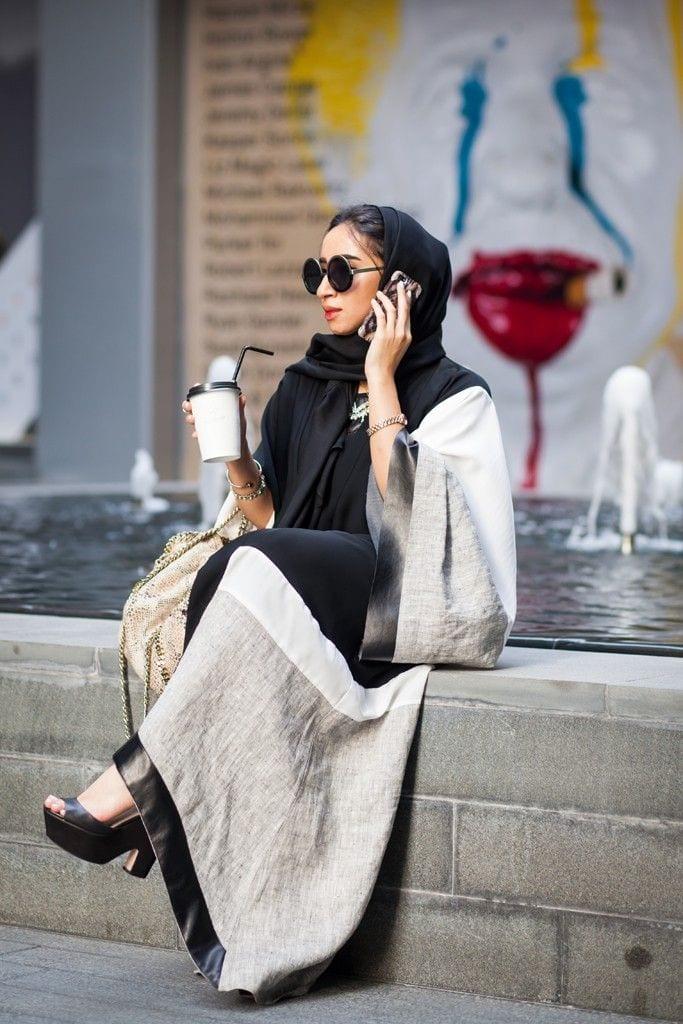 Muslim women street style