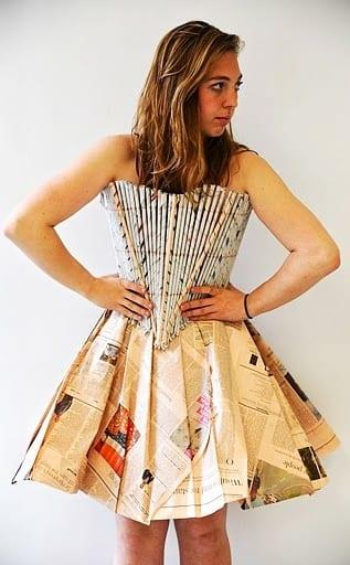 Ideas Paper Dresses