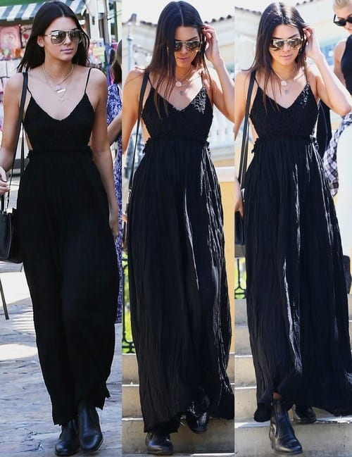 Kendal Jenner Black Dress
