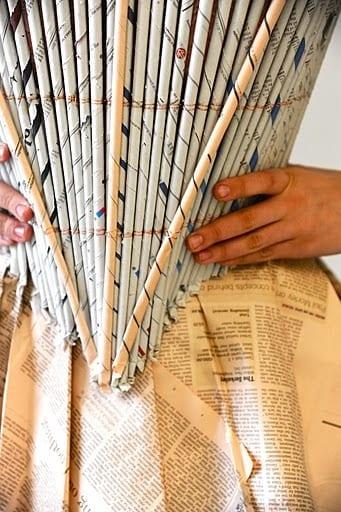 Paper dressing design ideas