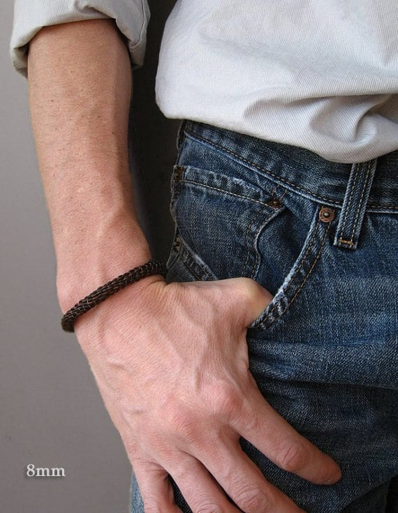 35 Most Trendy And Cool Leather Bracelets For Men