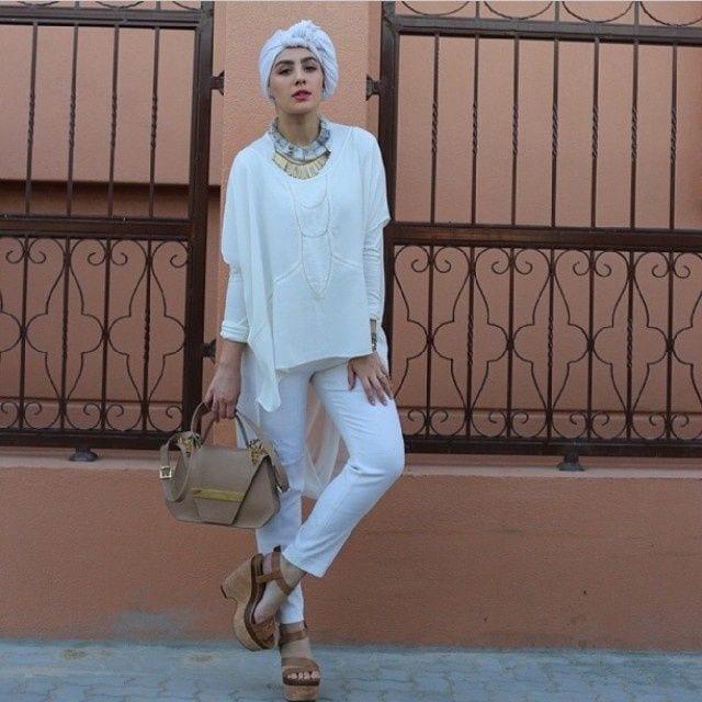funky hijab styles