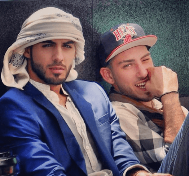 omar Borkan in western outfits