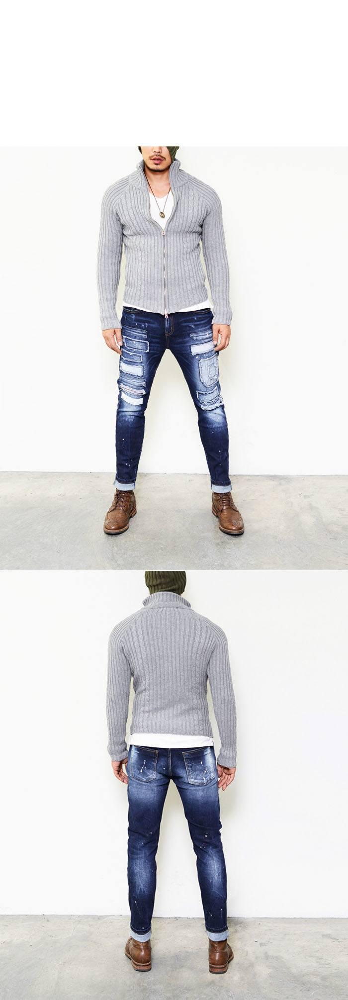 Art Damage Destroyed Skinny Jeans