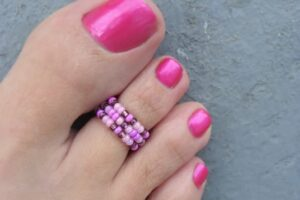 Colorfull Toe RIngs