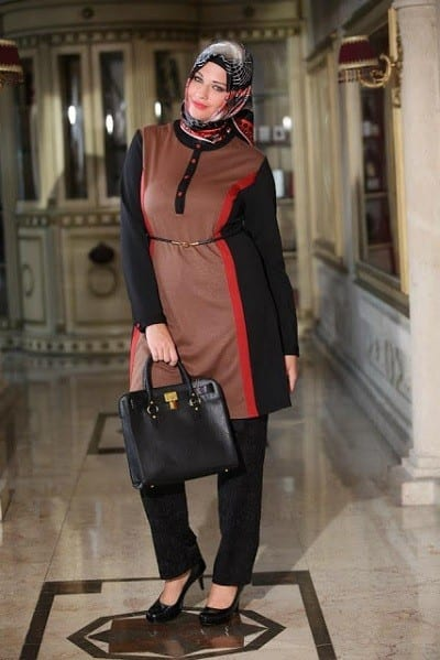 Hijab fashion for curvy women