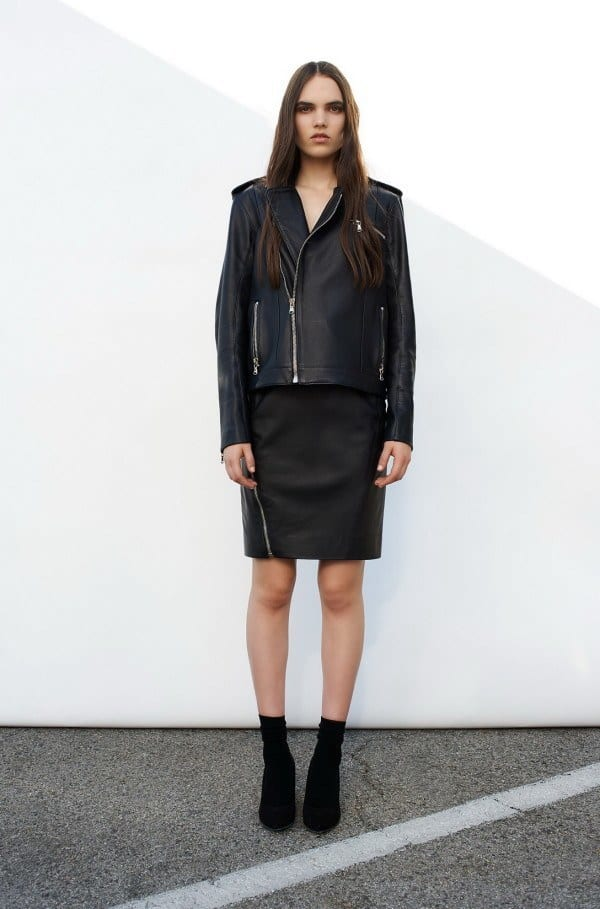 Leather Skirt for Winters
