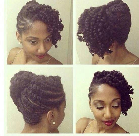 Side Updo Black Girls