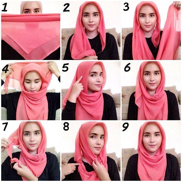 Trendy Hijab Style Tutorial