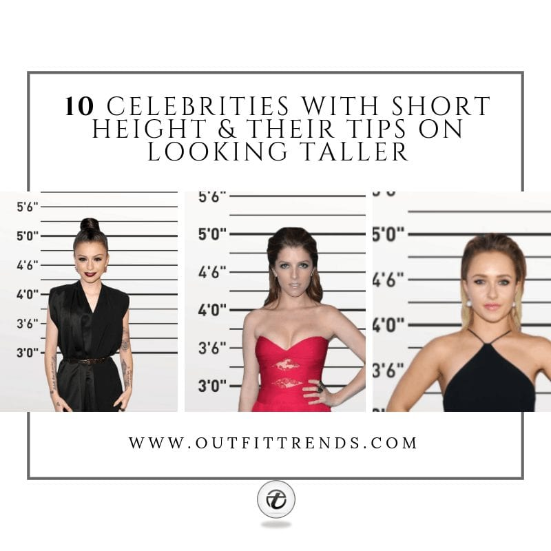 celebrities with short height fashion