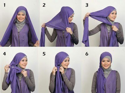 hijab tutorial 2015