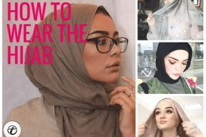 how to wear hijab tutorials