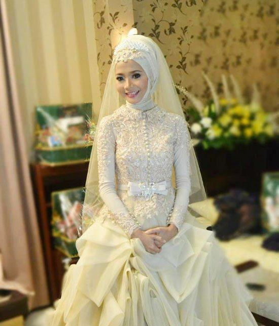 2015 Hijab Wedding Dresses