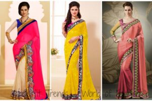 2015 Indian Saree Style and Designs