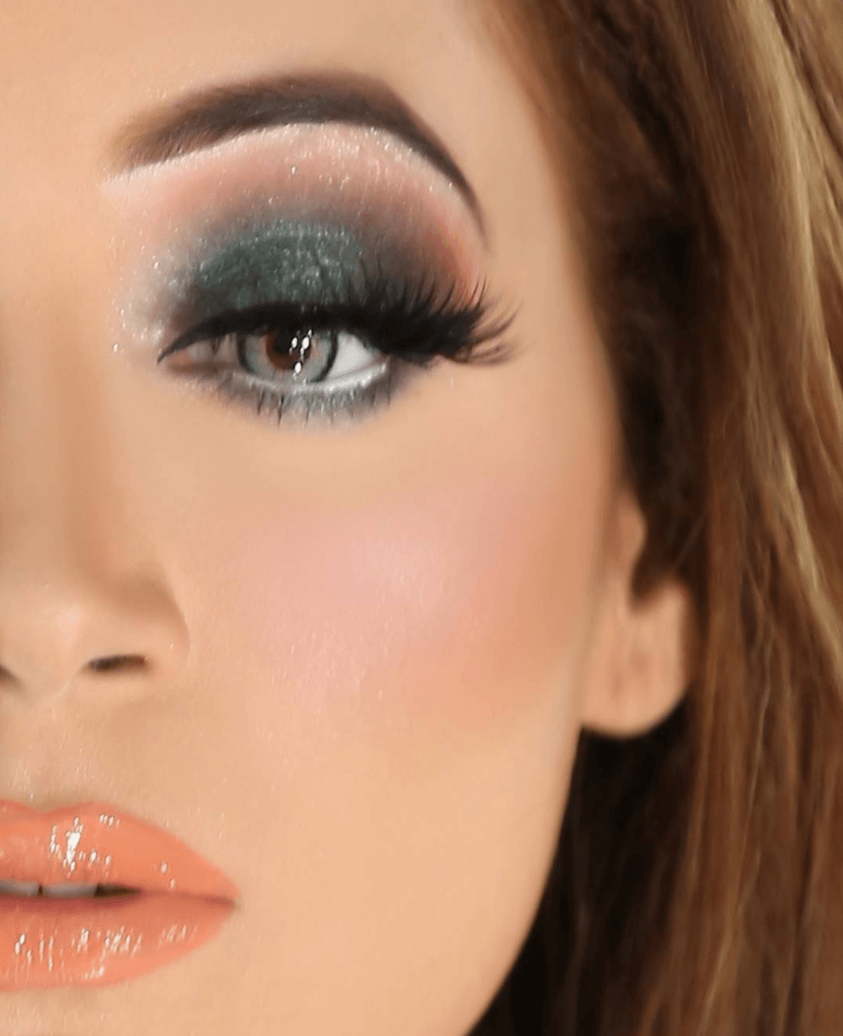 Beautiful eyemakeup. Pakistani smokey eye makeup