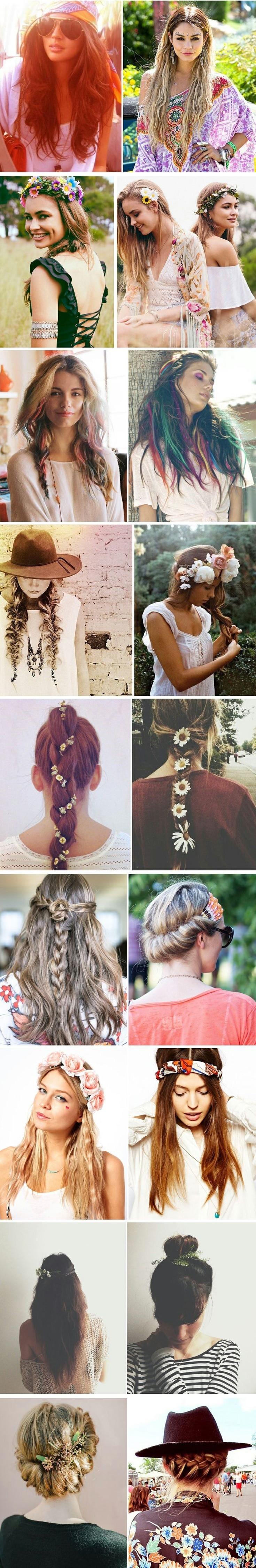 Boho hairstyles for teenage girls