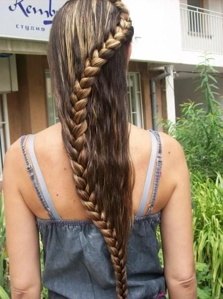 Braided hairstyles for teenage girls