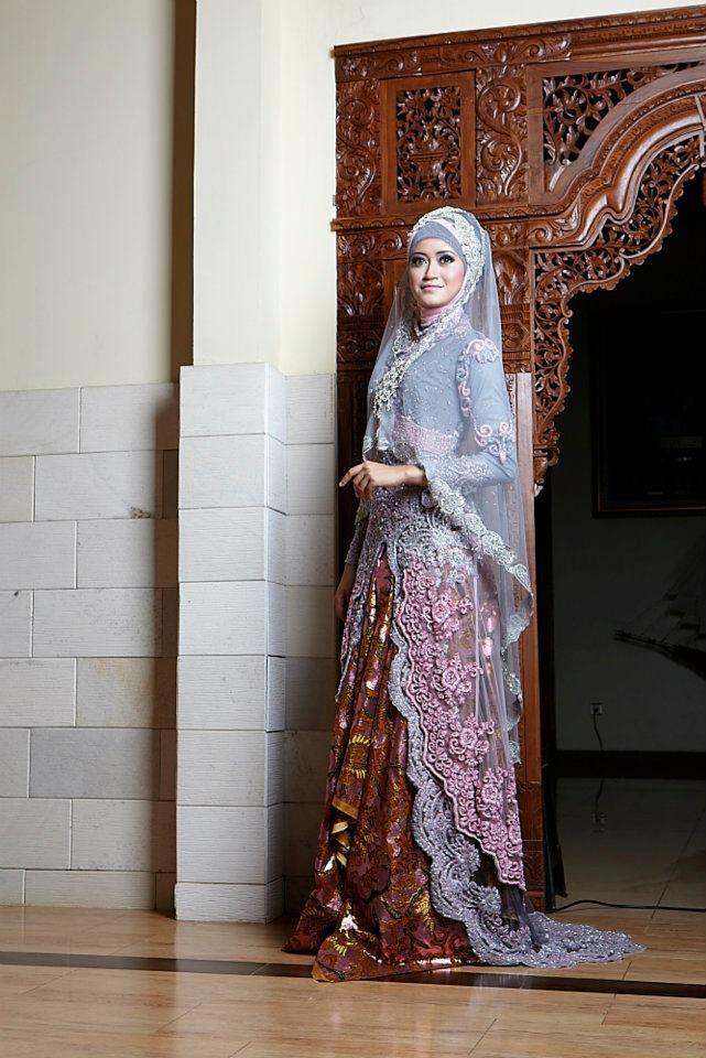Bridal Abaya Hijab Wedding Dress