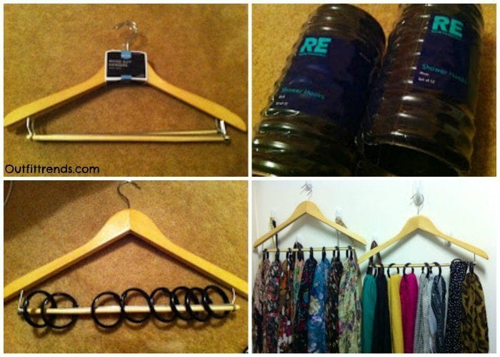 DIY Hijab Organizer
