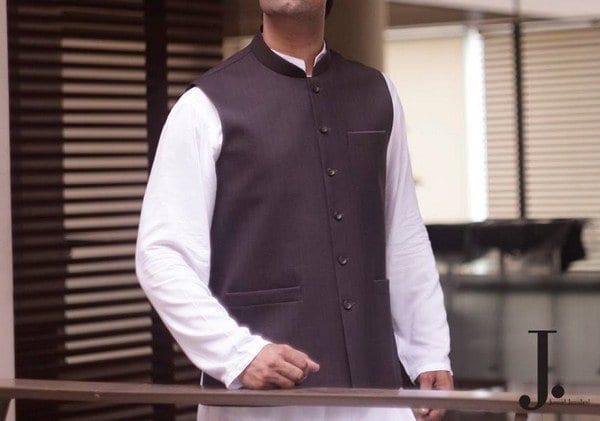 Elegant shalwar kameez waist coat