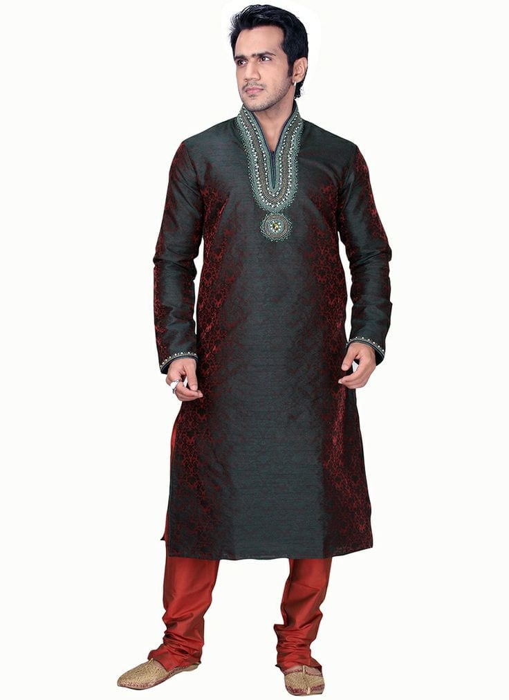 Fancy Embroidered Men Kurtas