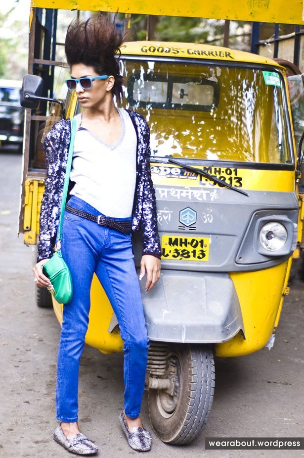 Funky Indian Street style