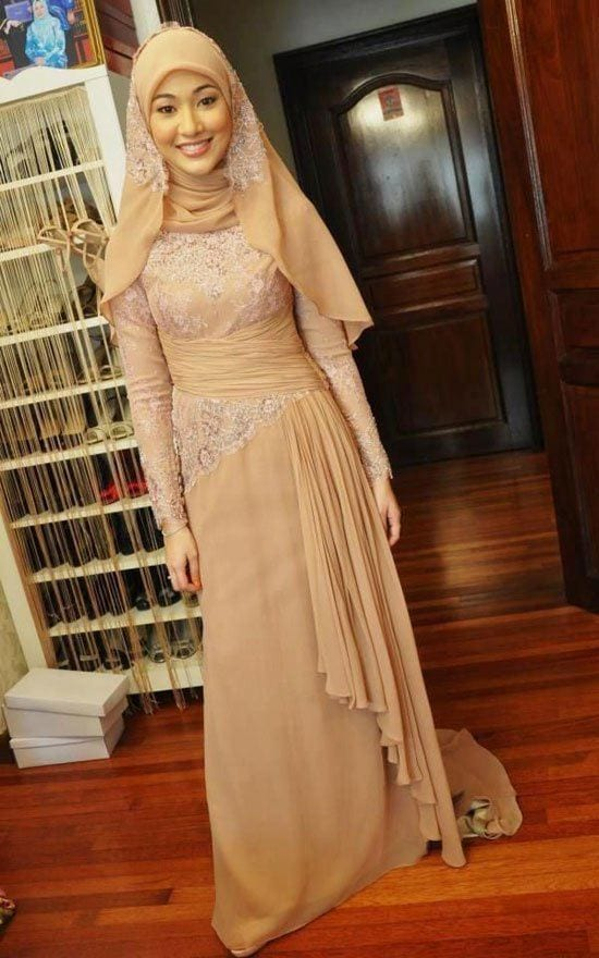 Hijab Bridesmaid Dresses