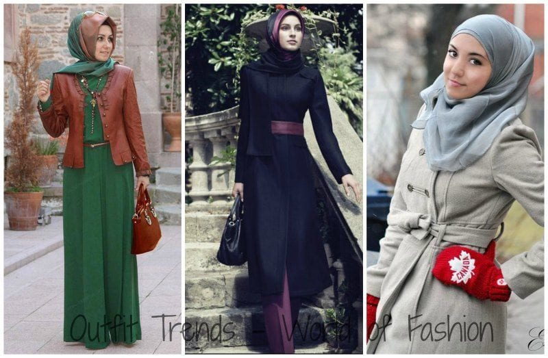 Hijab Winter Outfits