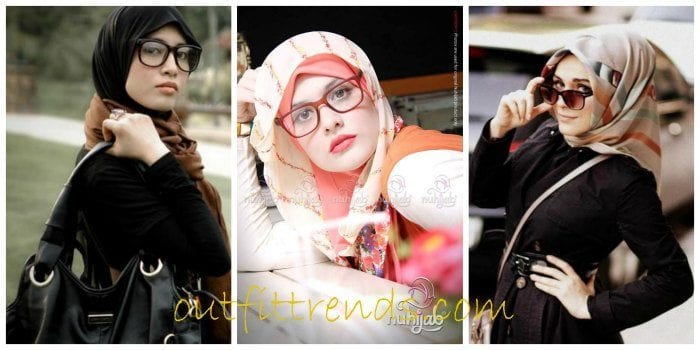 Hijab With Glasses-17 Ideas to Wear Sunglasses with Hijab