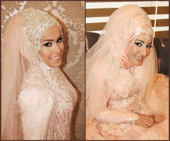 Hijab wedding dress photos