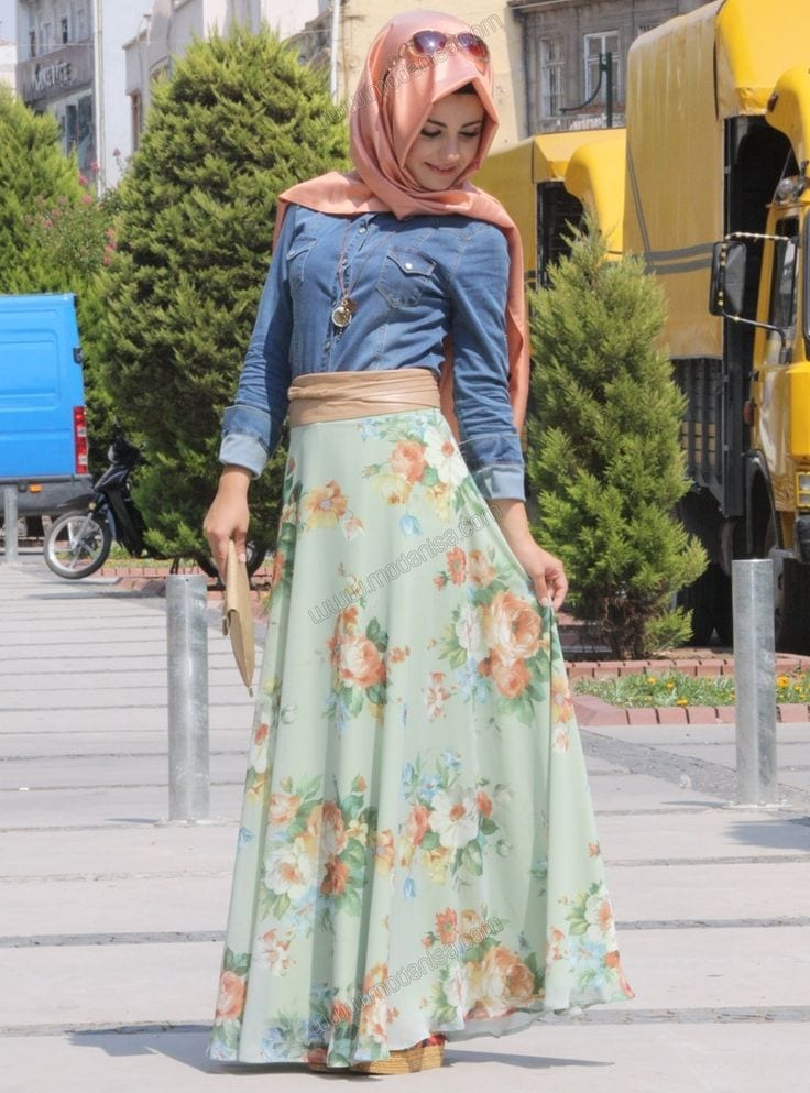 8d22bfd1e 14 Popular Hijab Street Style Fashion Ideas This Season