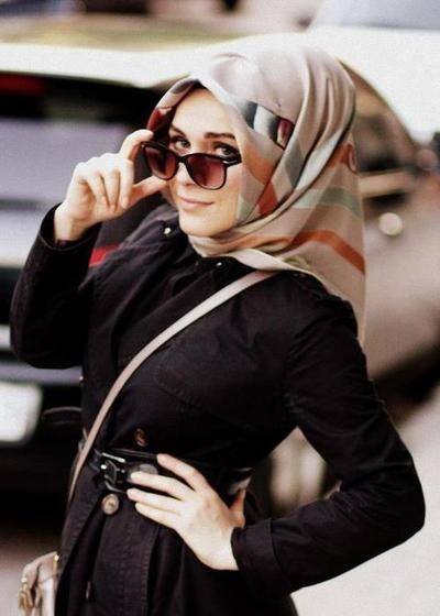 ca234158de Hijab With Glasses-17 Cool Ideas to Wear Sunglasses with Hijab
