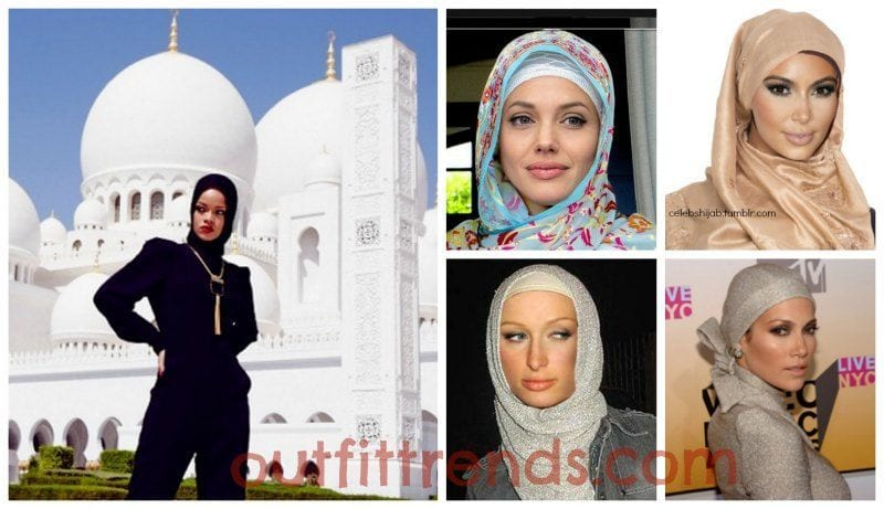 Hollywood Celebrites in Hijab