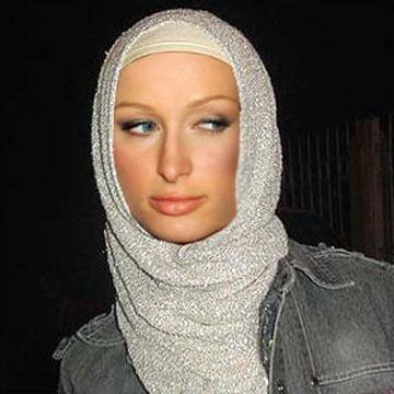 Hollywood celebrities in Hijab