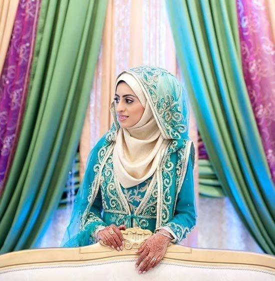 Muslim Wedding Gown Pictures: Hijab Wedding Dresses-30 Islamic Wedding Dresses For Brides