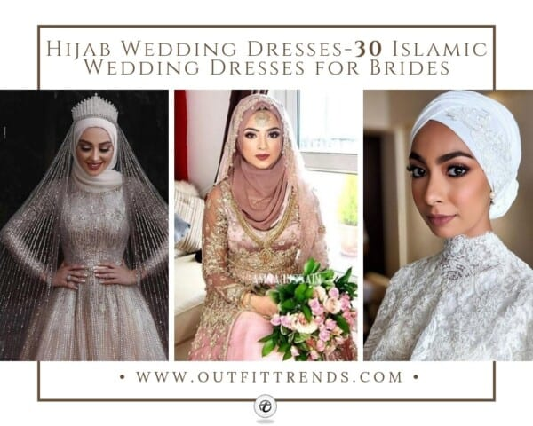 Bridal Hijabs styles (6)