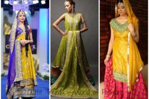 Latest Style Mehdni Dresses Pakistan