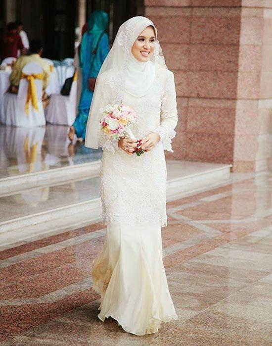 Latest style hijab wedding photos