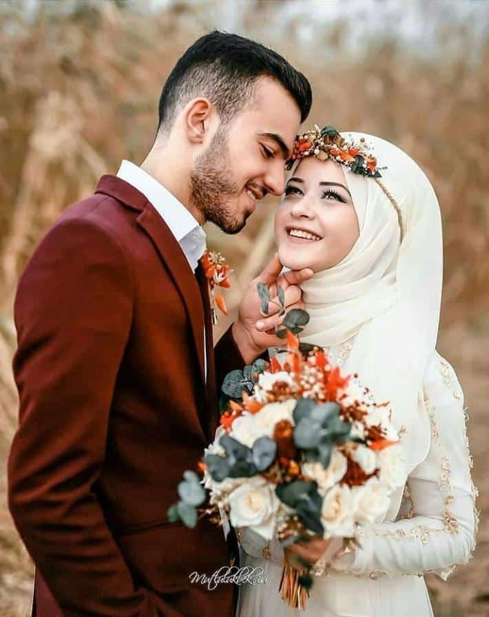 Bridal Hijabs styles (15)