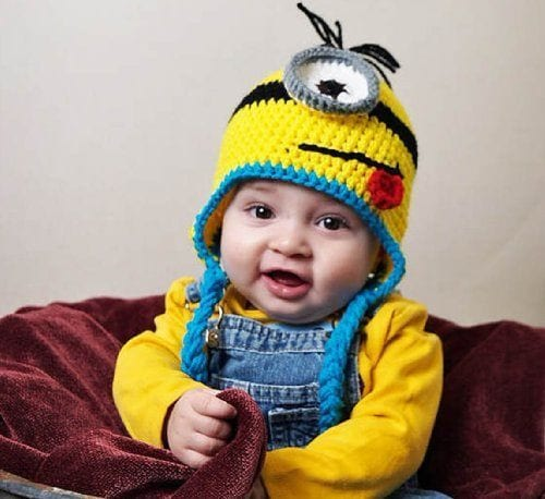Minion Hat for Kids