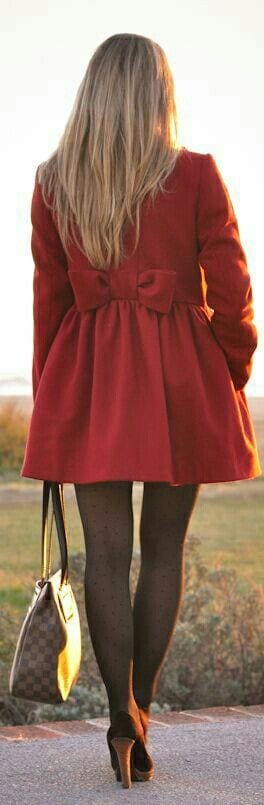Peplum coats fashion
