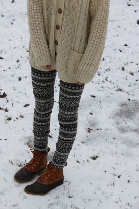 Printed Thigh Highs - Stockings for teenage girls