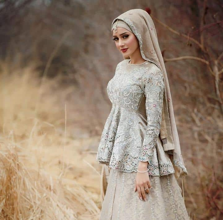 Bridal Hijabs styles (14)