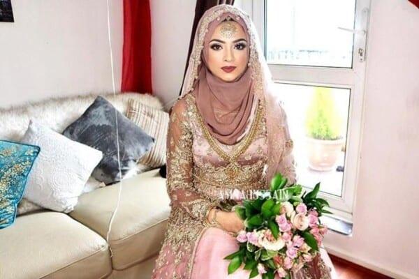 Bridal Hijabs styles (4)