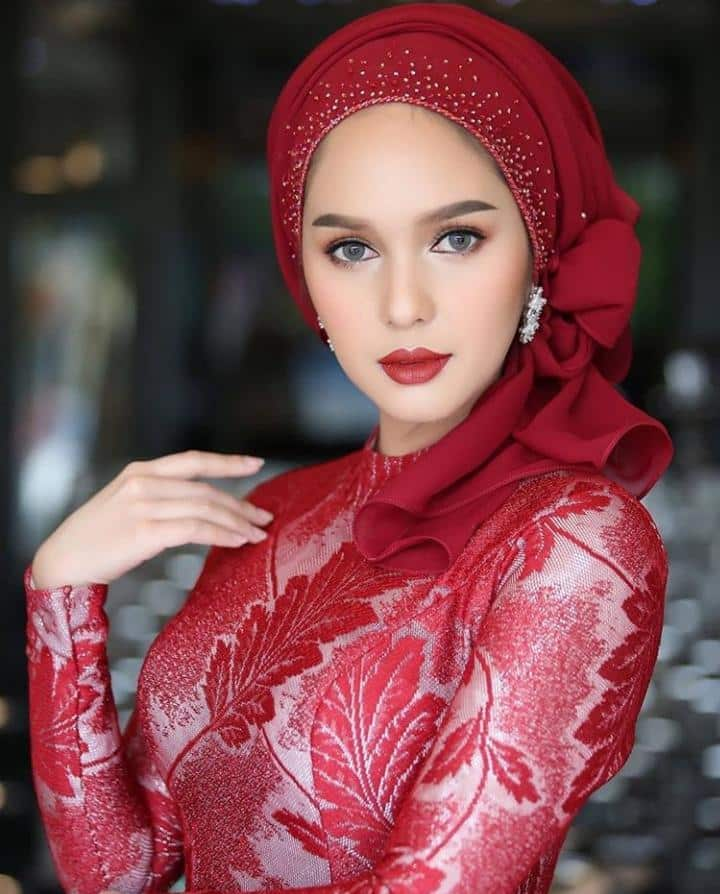 Bridal Hijabs styles (13)
