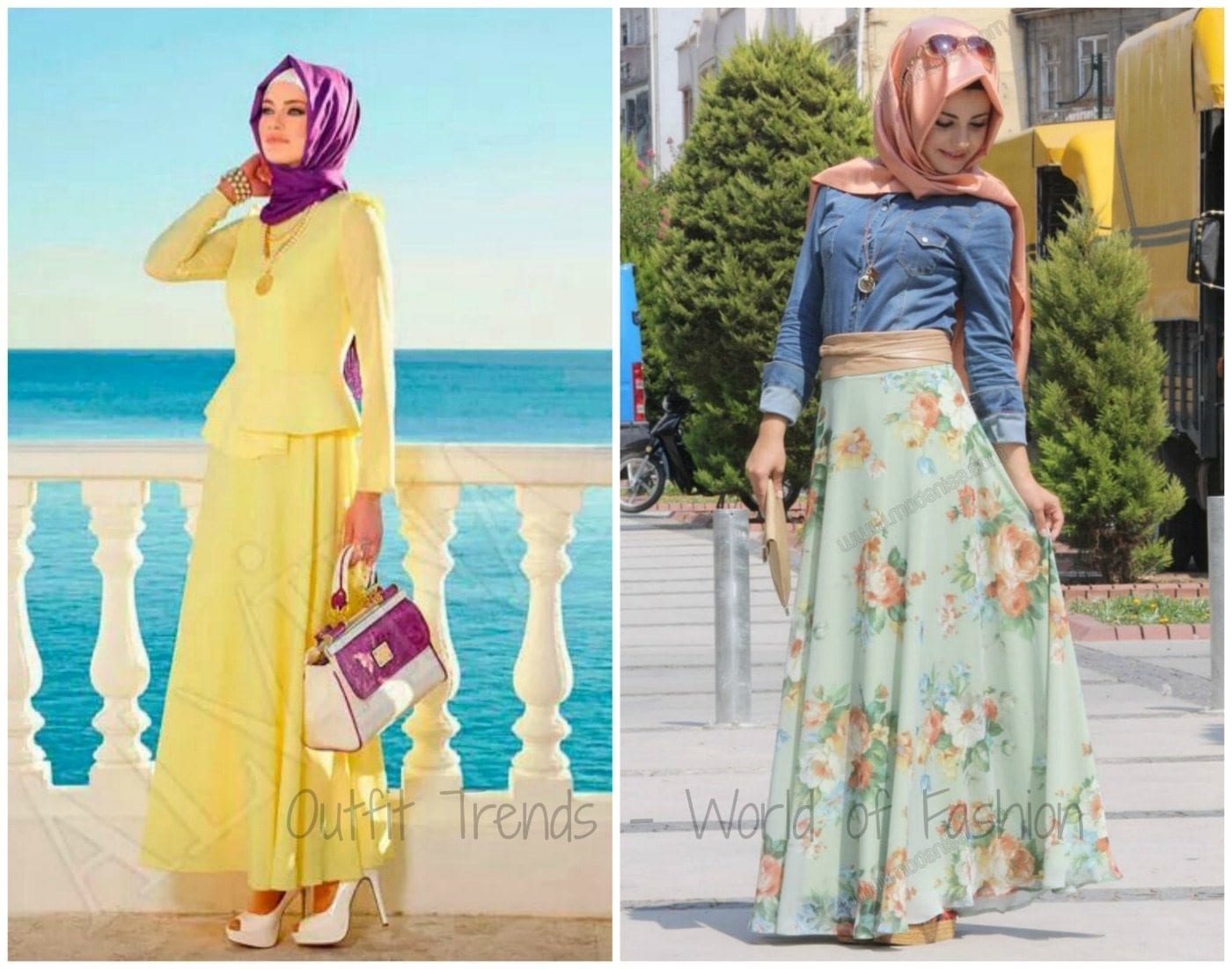 Trendy Hijab Street style