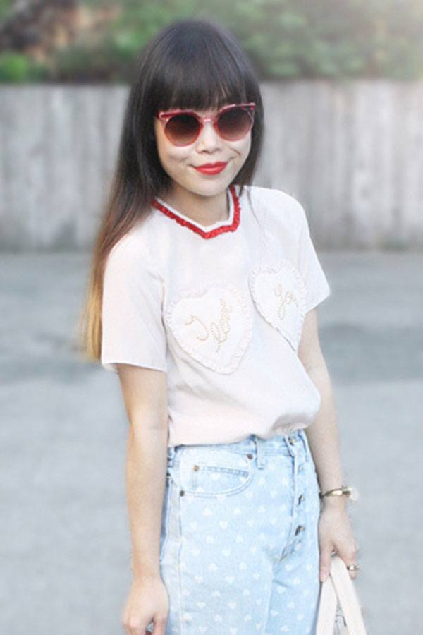 Trendy Shades teenage girls