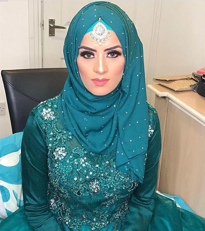 Bridal Hijabs styles (1)